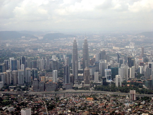 KL by air - KLCC