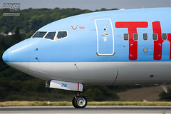 G-FDZB - 35131 - Thomson Airways - Boeing 737-8K5 - Luton - 100811 - Steven Gray - IMG_1311
