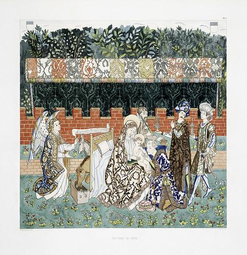 019-Tapiceria de Berna-Les anciennes tapisseries historiées…1838- Achille Jubinal