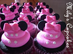 July 100 Days!! (Mily'sCupcakes) Tags: pink cupcakes july days 100 minnie comunidad coreana milys