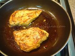 Cocinando el pollo