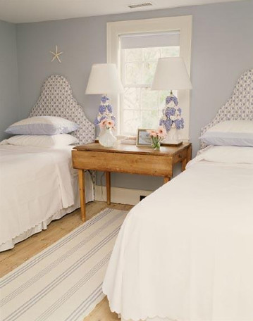 Ruthie Sommers Interiors - Beachy Chic Guest Bedroom