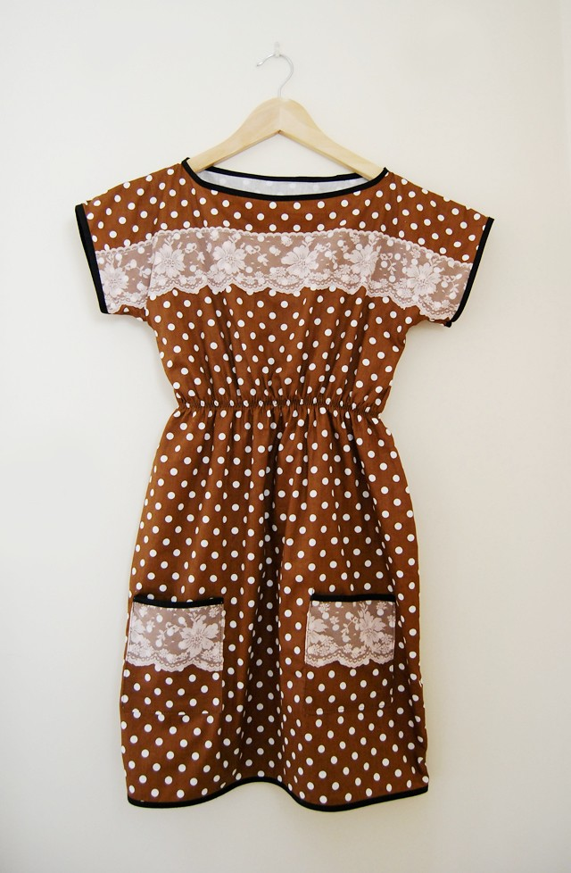 Pretty Woman Polka Dot Dress