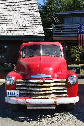 Bella's Truck, Twilight Saga, Forks Washington