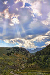here comes the sun... (Pattys-photos) Tags: landscape montana topazsoftware