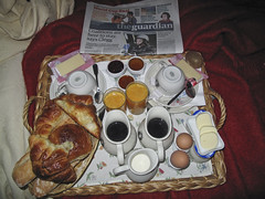 breakfast in bed in the marais (noelani) Tags: paris france 2010 canong10