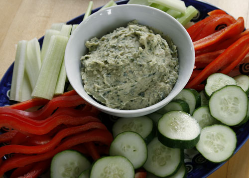 CSA Day: Basil White Bean Dip and Other Tasty Ideas