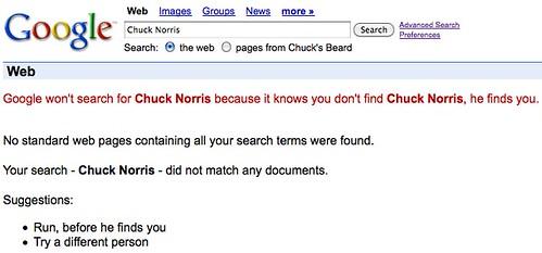 Google-whoIsChuckNorris