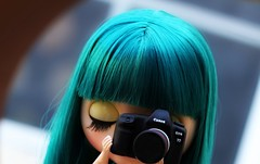 Even dolls take pictures