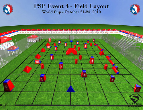 PSP World Cup 2010 field