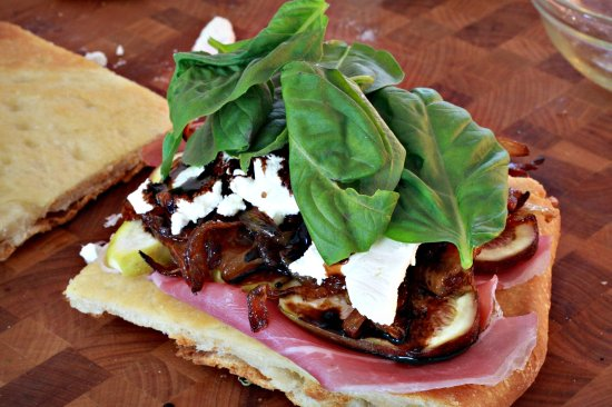 Awesome Figgy Sandwich