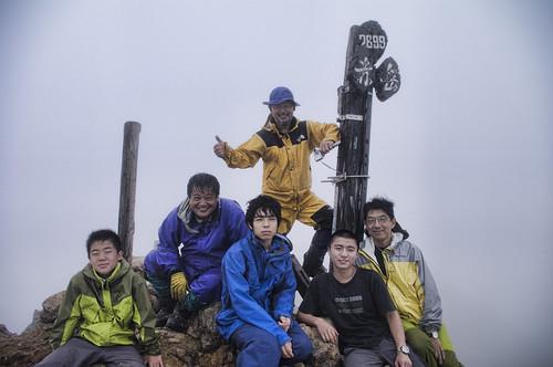 MBC八ヶ岳縦走キャンプ2010夏