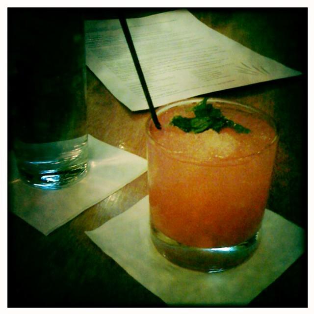 Watermelon Mojito, Sweet Grass, Memphis, Tenn.