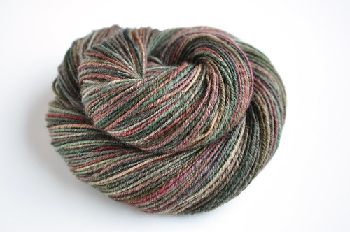 FCK-BFL variegated-Tapestry-4oz-267yds-navajo plied
