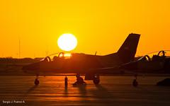 End of the Day (sjpadron) Tags: sunset plane airplane venezuela aircraft aviation military jet puestadesol fav airforce k8 avion venezolano venezolana entrenador venezuelan jiangxi aviacion militaryaircraft karakorum trainingplane d700 nikond700 hongdu jl8 ambv sjpadron abmv jiangxihongduk8 jiangxihongduaviation k8karakorum