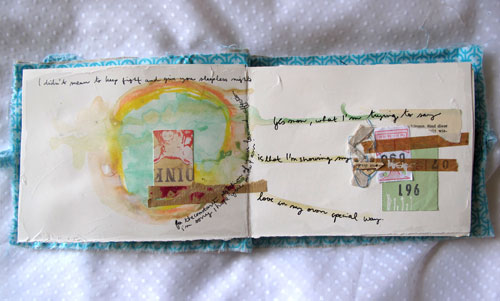 "Art Journal ""lost in relations"" p.3"