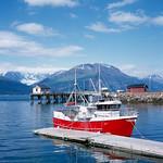 Norway - Skibotn (Boat in Harbor)