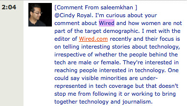 Saleem Kahn on wired