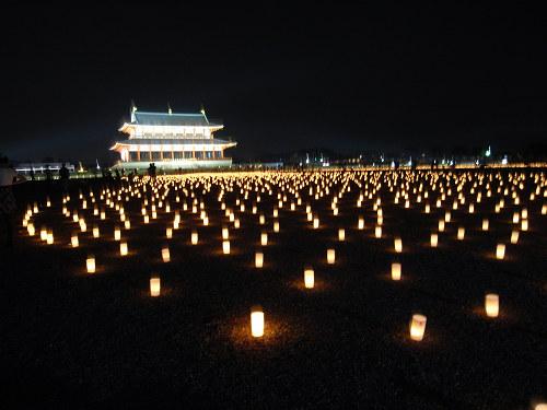 平城宮跡夏季フェア「光と灯りのフェア」-14