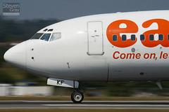 G-EZKF - 32427 - Easyjet - Boeing 737-73V - Luton - 100816 - Steven Gray - IMG_1502