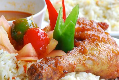 Nasi Bariani Ayam Rempah