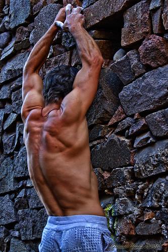 The Boulder man
