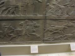 Lion Hunt Frieze (Wyrmworld) Tags: uk england london unitedkingdom lion carving frieze bm britishmuseum mesopotamia hunt assyria assyrian londonwalks mesopotamian