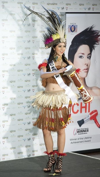National Costume of Miss Indonesia