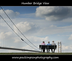 Humber View (Paul Simpson Photography) Tags: uk friends summer england bench seat watching viewing humberbridge humberside bartonuponhumber bridgesupports singlespanbridge bartononhumber august2010 summer2010 paulsimpsonphotography ringexcellence flickrstruereflection1 flickrstruereflection2 flickrstruereflection3 flickrstruereflection4 flickrstruereflection5