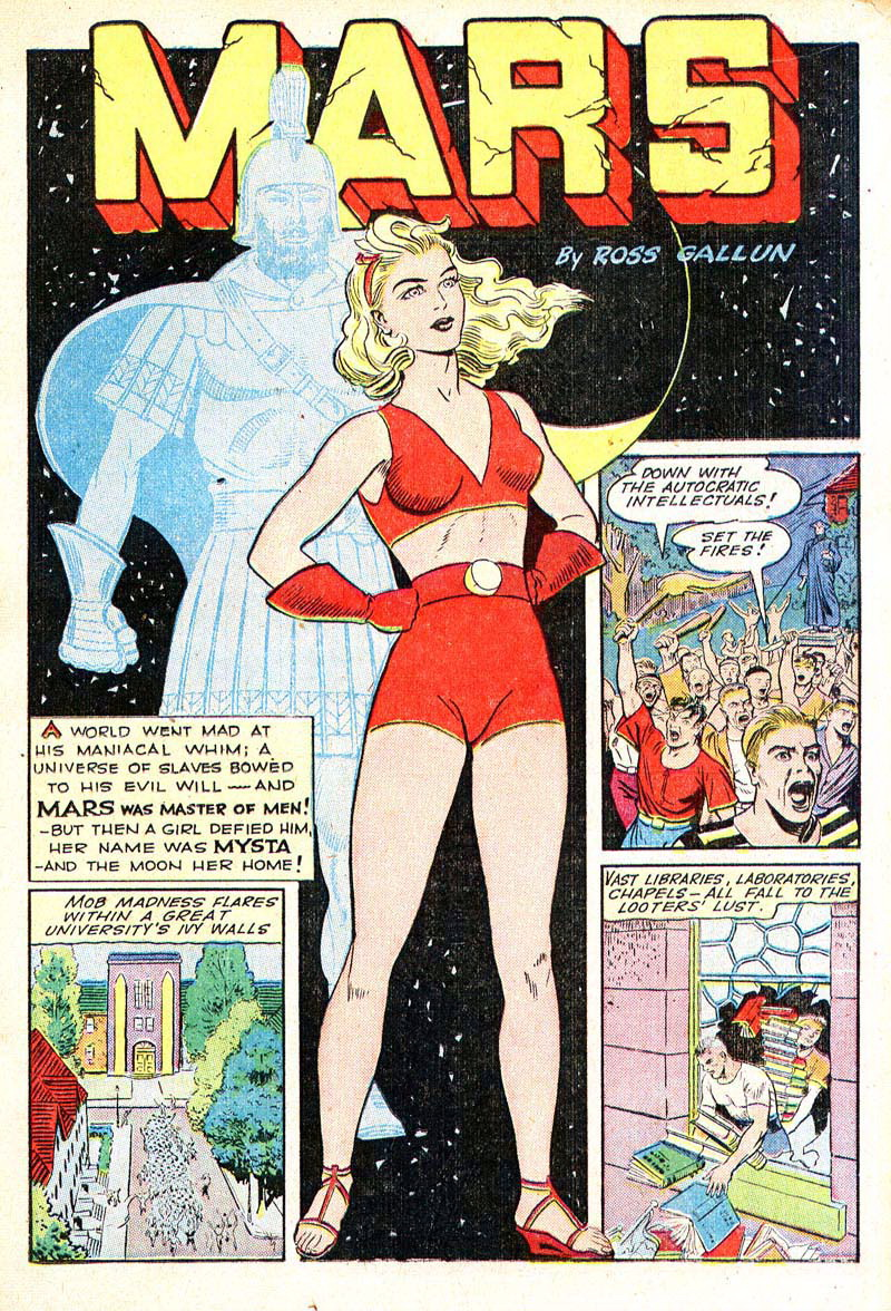 Planet Comics 35 - Mysta (March 1945) 01