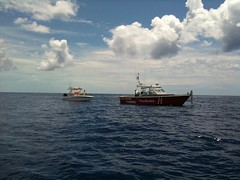 Towed out of Bimini
