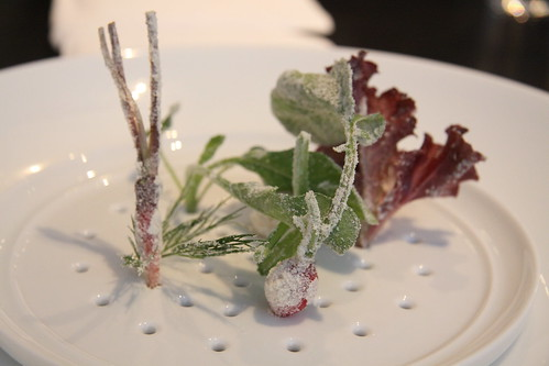 Alinea - Course 16: Salad pt 1