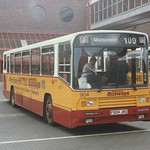 Newcastle Busways 904 at Gateshead - 3 August 1989