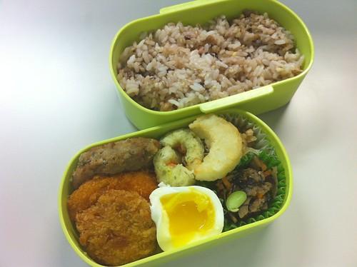 今日のお弁当 No.1 – 五穀米