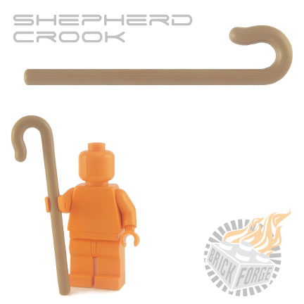 Shepherd Crook - Dark Tan