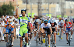 Daniele Bennati won the 2nd stage of Tour D'Oman