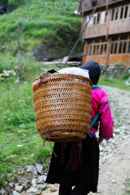 A Yao woman in Longsheng, Guangxi, China