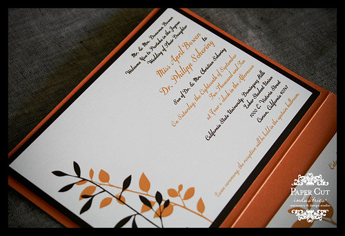 Orange County and Los Angeles Wedding Invitations