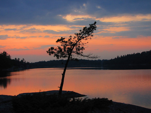 Sunset (The Massasauga Park, Campsite # 211)