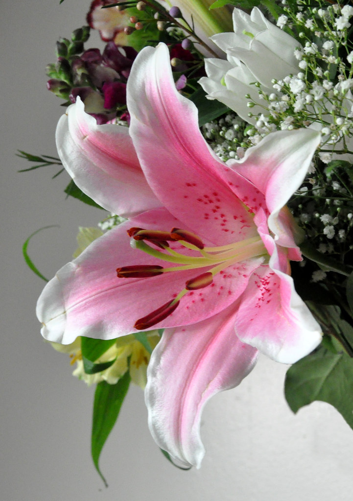 Memorial Bouquet Lily