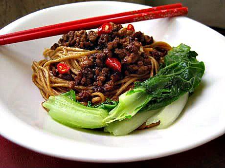 Noodles with Spicy Ground Pork Recipe   Smoky Wok