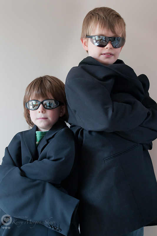 Little Men in Black