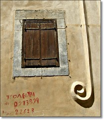 Window in the old town of Rethymnon (Eleanna Kounoupa (Melissa)) Tags: windows traditional greece crete oldtown rethymnon    hccity     oldfolkhomes