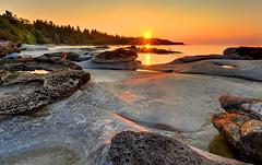 Sent to Heal, Hornby Island, British Columbia (Northern Straits Photo) Tags: sunset canada landscape nikon bc britishcolumbia gulfislands hornbyisland d700 seabreezebeach mygearandme mygearandmepremium mygearandmebronze mygearandmesilver mygearandmegold mygearandmeplatinum northernstraitsphotography