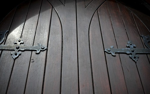 Wooden Doors, St Matthews Church