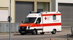VW Crafter Ambulance / Krankenwagen DRK ( D) (Vriendelijkheid kost geen geld) Tags: vw ambulance crafter eberbach drk krankewagen
