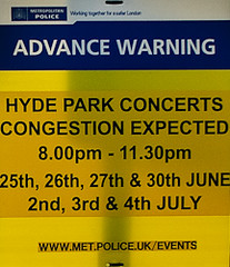 concerts congestion