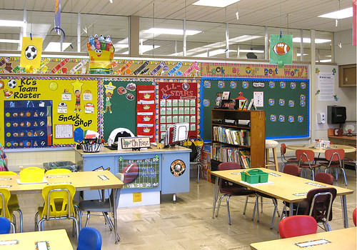Mrs. Franz's classroom.