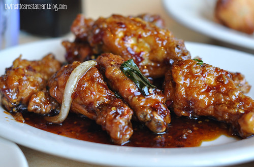 Spicy Pyster Wings @ Orchid Restaurant ~ White Bear Township, MN