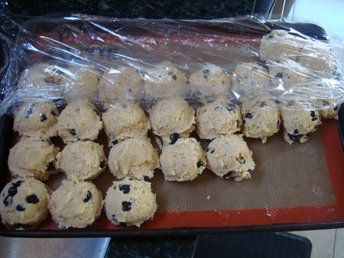 Blueberry and Cream cookie dough